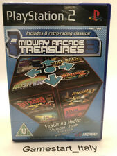 MIDWAY ARCADE TREASURES 3 - SONY PS2 - NUOVO SIGILLATO - NEW PAL VERSION
