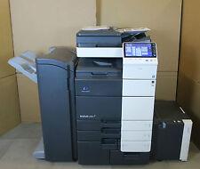 Bizhub C654 Konica Minolta couleur photocopieur copieur 65ppm Fax et Finisher