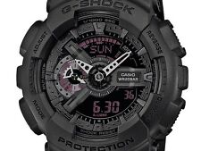 Casio G-Shock Mens Wrist Watch GA110MB-1A GA-110MB-1A Digital-Analog Black Large