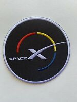 "SPACE X FALCON 9 FUTURE MISSIONS Launch! 2021 CONCEPT PATCH DESIGN 3"" Iron On"