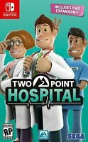Two Point Hospital for Nintendo Switch [New Video Game]