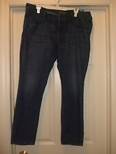 Womens Old Navy Ultra Blue Skinny Jeans Size 14