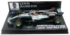 Minichamps Mercedes W08 Spanish GP 2017 World Champion Lewis Hamilton 1/43 Scale