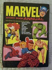 MARVEL STORY BOOK ANNUAL, HARDCOVER, HC, WORLD DISTRIBUTORS, 1967