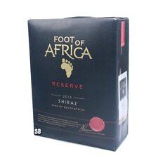 Foot of Africa Shiraz Reseve 14,5% vol Südafrica Rotwein Bag in Box, BiB 300cl