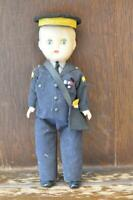 Fabulous VINTAGE Doll A Fabulous TRAFFIC WARDEN British Costume Doll 19cm Tall