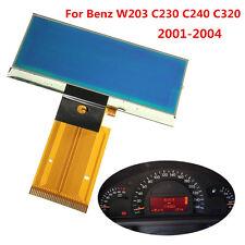 Speedometer Cluster LCD Display Screen Glass Instrument For Benz C180 C230 C240