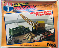 Tyco HO US1 Electric Trucking Operating Crane Pipe Loader Kit # 3410