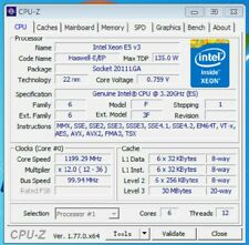 Intel Xeon E5 2643 V3 ES QEYM 6Core 3.2GHz 30MB  LGA2011-3 CPU