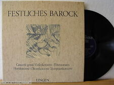 5LP-BOX - Festliches Barock - Concerti grossi - Horn- Oboen- Trompetenkonzerte