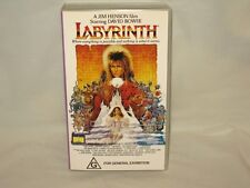 LABYRINTH - VHS VIDEO - DAVID BOWIE