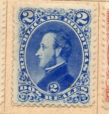 Honduras 1878-89 Early Issue Fine Mint Hinged 2r. NW-11870