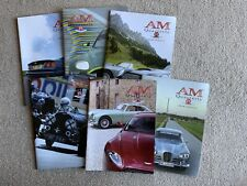 Aston Martin Owners Club Magazines AMOC AM Quarterly 2006 2007 Six