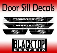 R/T Dodge Charger Vinyl Door Sill Decals 2006 2007 2008 2009 2010