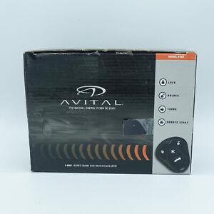 Avital 1-Way Remote Start With Keyless Entry Model 4103 OPEN BOX