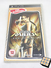 Sony PlayStation Portable PSP Video Game Tomb Raider Anniversary Essentials
