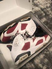 Air Jordan 6 Carmine Size 11 2014 Release Jordans Retros MJ 23 Baketball Shoes