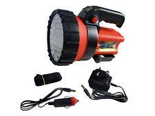 Rechargeable LED Torch Work Light Spotlight Lantern 37 LED 12v Charger Incl
