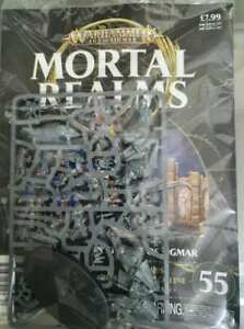 """Warhammer AoS Mortal Realms """"Lord Arcanum on Dracoline"""" Sealed (Issue 55)"""
