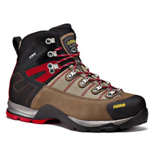 Asolo Men's Fugitive GTX Hiking Boots NEW AUTHENTIC Wool/Black OM3400-508