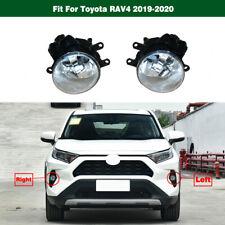 Front Driving Fog Light Lamp Pair LH & RH For Toyota RAV4 2019-2020