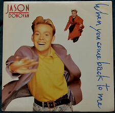 "Jason Donovan – When You Come Back To Me 7"" – PWL 46 – Ex"