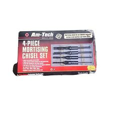 AM-Tech quality tools 4-Piece Mortising Chisel Set