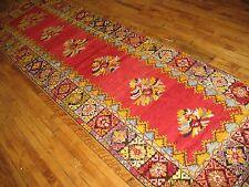 Antique Turkish Oushak Ushak Melas Mudjur Rug Size 3'5''x12'