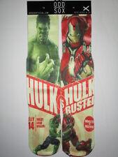 ODD SOX hulk vs iron man BUY ANY 3 pairs GET 4TH FREE Streetwear Urban novelty