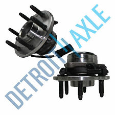 2 Brand New Complete Front Wheel Hub & Bearing Assembly Chevy GMC 2WD 6 LUGS