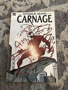 SPIDER-MAN CARNAGE TPB  (Marvel, 1993) VENOM 1993 Graphic Novel