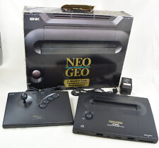NEO GEO AES Console System Boxed neogeo SNK Ref/330250 Tested JAPAN