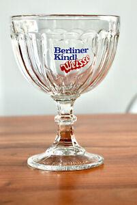 70er Jahre Berliner Kindl Weisse 1975 Weißbierschale 0,3l Pokalglas Bierglas