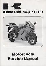 2005 KAWASAKI MOTORCYCLE NINJA ZX-6RR SERVICE  99924-1346-01 (892)
