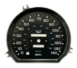 1978-1982 Corvette 140 MPH Speedometer Face - New