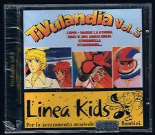 LINEA KIDS TIVULANDIA LA PIU' BELLE SIGLE DEI CARTONI ANIMATI VOL. 3 CD NUOVO!!!