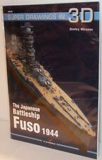 Kagero Publishing 16048 - Super Drawings In 3D - The Battleship Fuso 1944