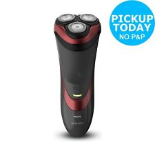 Philips Series 3000 S3580/06 Wet and Dry Cordless Electric Shaver  - Black/Red.