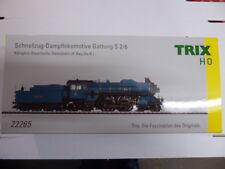 Trix 22265 Schnellzuglokomotive s 2/6 K.bay.sts.b. blau
