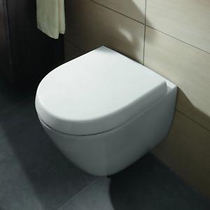 Villeroy&Boch WC-Sitz mit Absenkautomatik QuickRelease Subway 2.0 Weiß 9M69S101