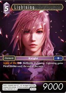 Lightning - PR-003 - Promo Final Fantasy