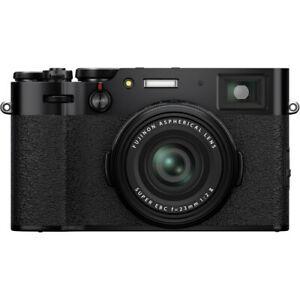 Fujifilm X100V Digital Camera Black Multi in stock