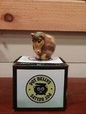Harmony Ball Pot Bellys Tonie The Pony Trinket Treasure Box, Euc