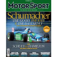 Motor Sport Magazine December 2020 SCHUMACHER F1