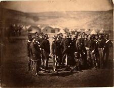 British Cavalry Survivors of Charge of the Light Brigade Crimean War 1854 7x5""
