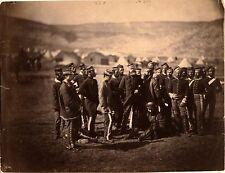 "British Cavalry Survivors of Charge of the Light Brigade Crimean War 1854 7x5"""