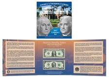 2017 Americas Founding Fathers Set Currency Set $1 $2  Only 5000 made Low #'s