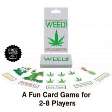 WEED Adult Card Games Party Group Drinking Games