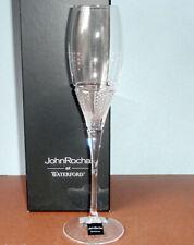 Waterford John Rocha Muse Leda Flute Clear Cut Crystal 159519 New In Box