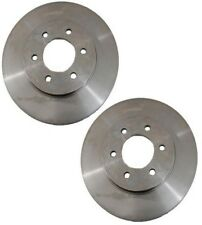 For Ford Lincoln Pair Set of 2 Front Disc Brake Rotors Vented 6 Lugs 330x30mm